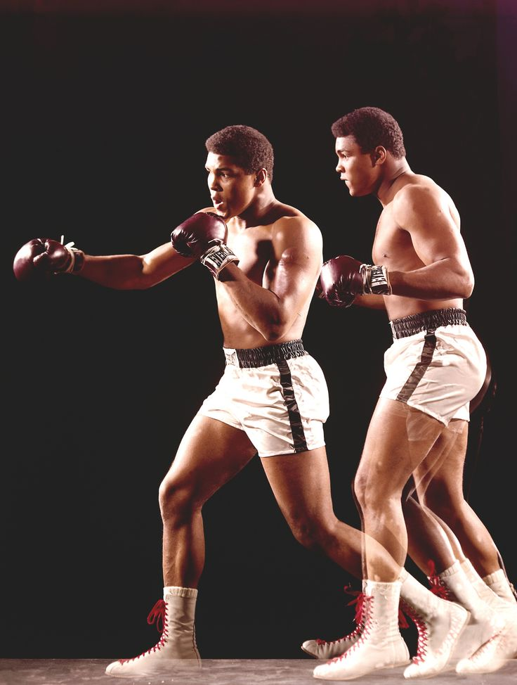 "Muhammad Ali ~ Born January 17,1942... An American professional Boxer, with a mantra ""Float like a butterfly and sting like a bee""... there's only one Champion like the great ALI."
