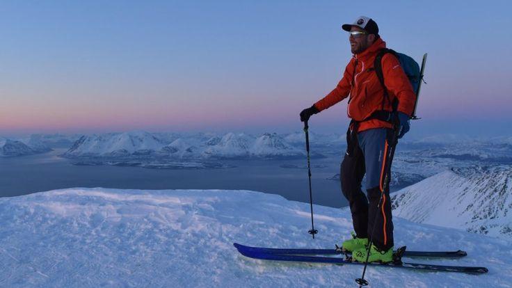 Nordnorwegen: Skifahren mit Meerblick
