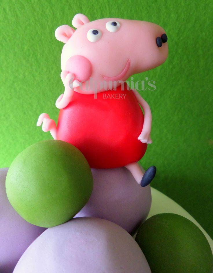 Peppa Pig fondant