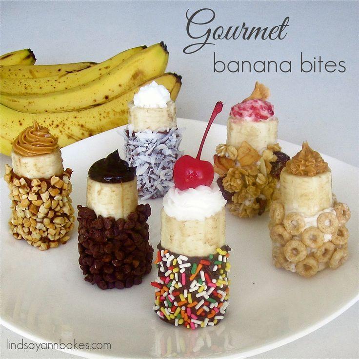 ... : {VIDEO} Gourmet (Chocolate Dipped, Filling Stuffed) Banana Bites