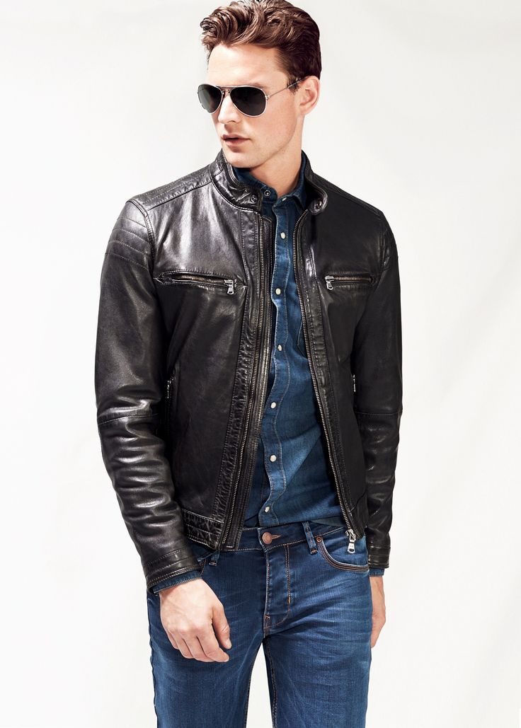 1000  images about Jacket on Pinterest | Mens fall Men&39s leather