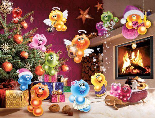 """Ravensburger Gelini 16643 Puzzle 2000-Piece """"Wilde Weihnachten"""" (Wild Christmas)"""