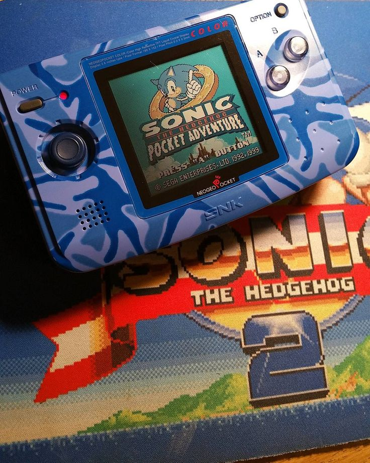 On instagram by darthcharizard #sonicthehedhedog #microhobbit (o) http://ift.tt/2pvhfui love this game. I really need to play my Neo Geo Pocket Color more often. #neogeo #ngpc #neogeopocketcolor #neogeopocket #snk #sega #sonic #sonicthehedgehog #sonicpocketadventure #sonic2 #gameboy #3ds