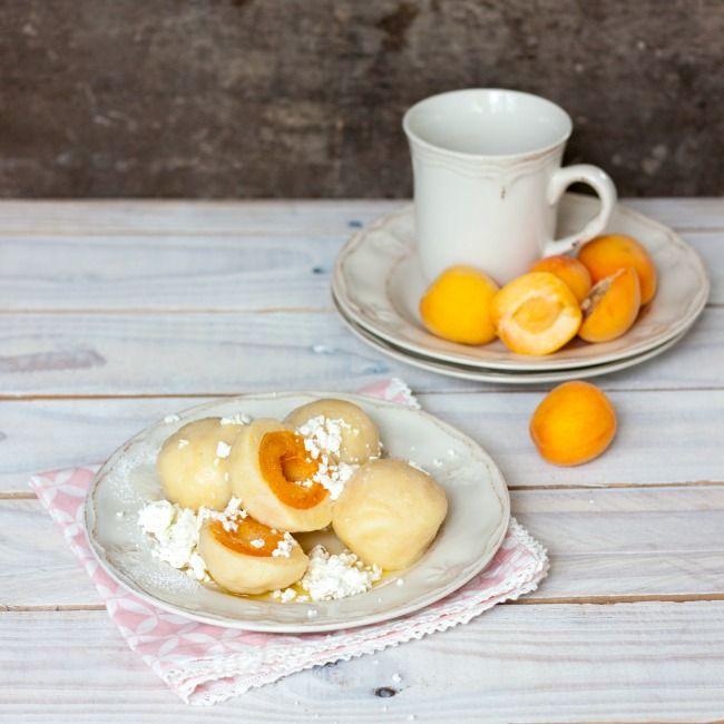 Babiččina volba - Recept - Meruňkové tvarohové knedlíky