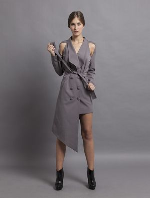 MIRAY GURSOY, Kruvaze Elbise  Daha fazlası:  http://www.hipnottis.com/tasarim-elbise/miray-gursoy-kruvaze-elbise
