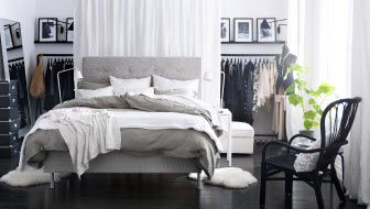 MOVE THE BED TO THE MIDDLE