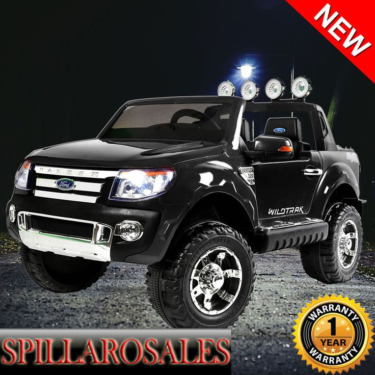 Kids Ride on Car w/ Remote Control Licensed Ford Ranger Suitable 3+ Years Black