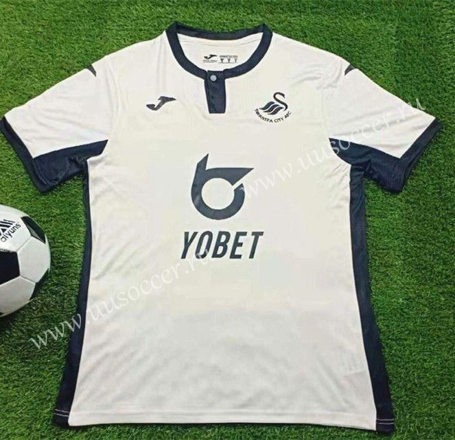 2019 2020 Swansea City Afc White Thailand Soccer Jersey Aaa 503 Swansea City Soccer Jersey Swansea