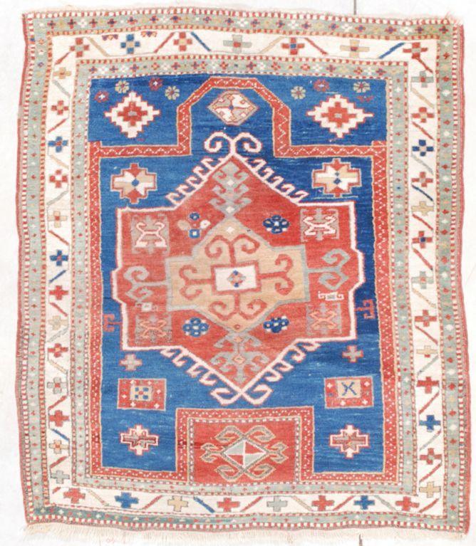 Facralo Kazak Size X 134 Cm Age Circa 1860