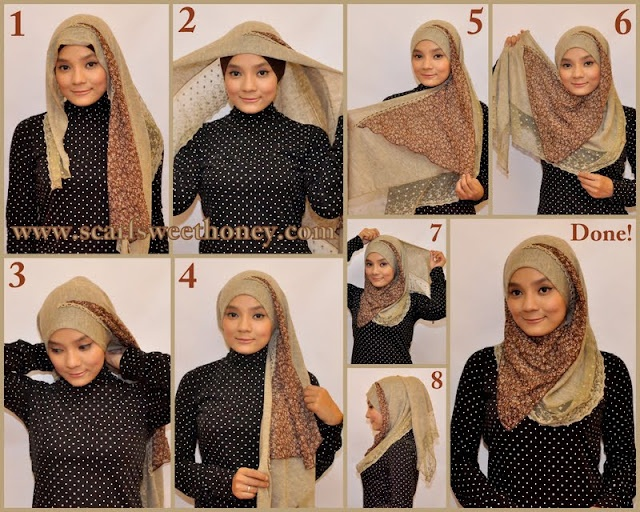 Hijab tutorial  #1