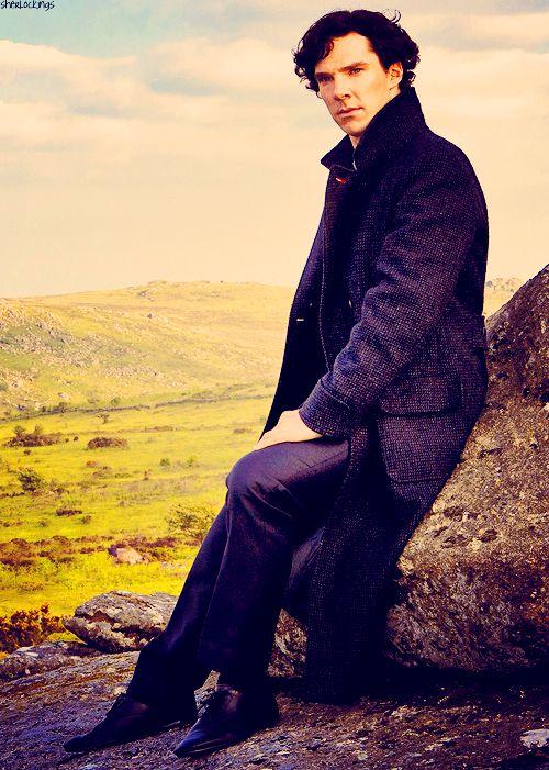 Benedict Cumberbatch in: Sherlock!