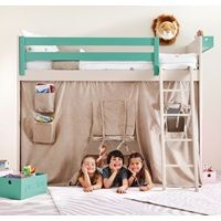 KIDS LISO LOFT BED with Tepee Cover. Unique Childrens Beds | Designer Kids Beds