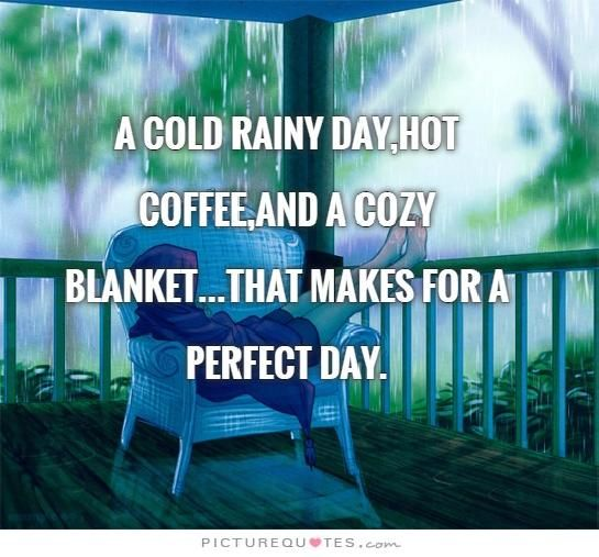 Rainy weather COFFEE