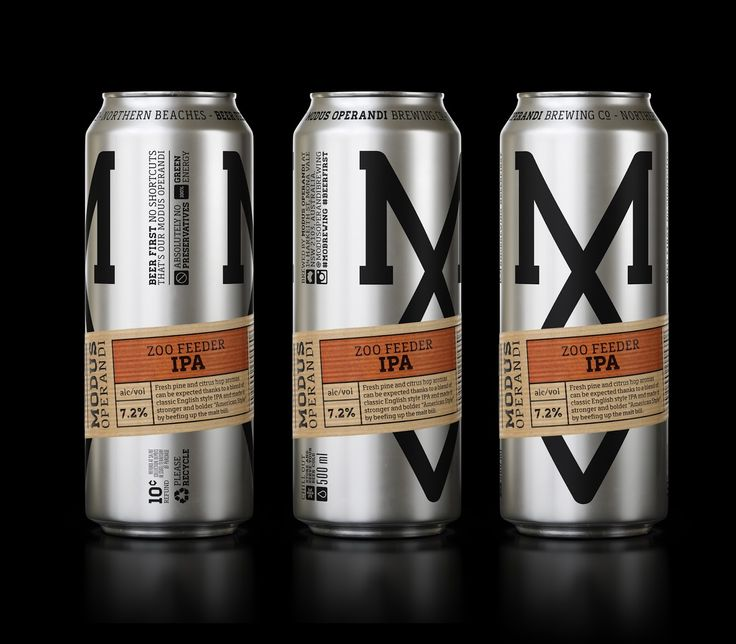 Modus Operandi Brewing Co. on Packaging of the World - Creative Package Design Gallery