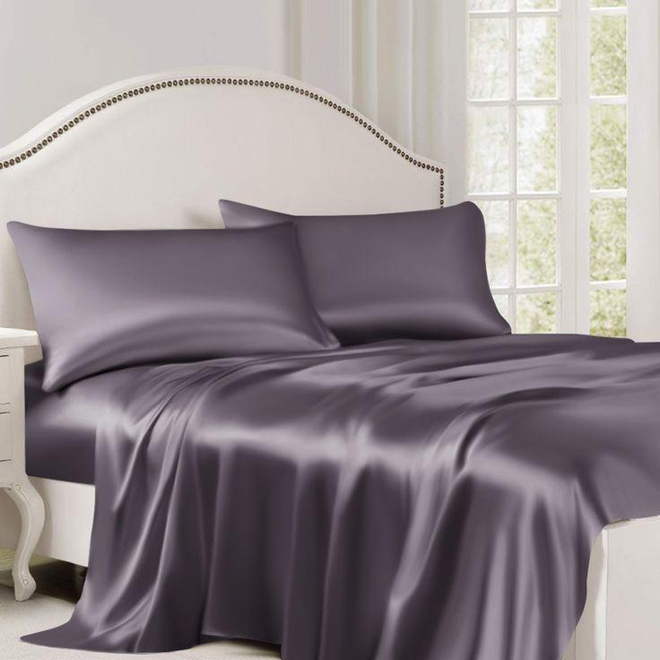 Silk Flat Sheet Silk Flat Sheet Designer Bed Sheets Satin Bedding