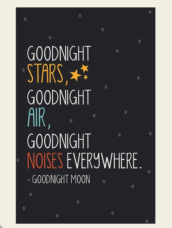 Goodnight Moon: Hang this good night ritual ($22) on the wall for something sweet and nostalgic.: