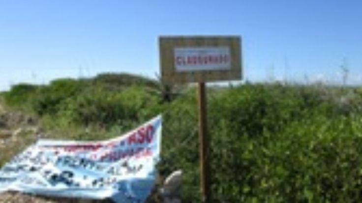 Clausura profepa desarrollo inmobiliario en reserva de El Palmar