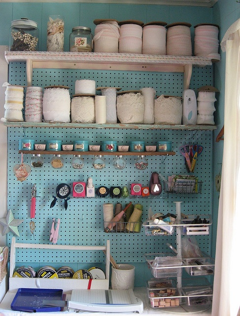 ohmygosh i am so excited to add this to my house. painted peg board that will hold a collection of washi tape, markers, sewing supplies, paints and crafts. I CANNOT WAIT TO GO TO HOME DEPOT!