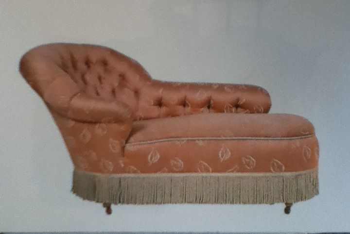 375 best antique new chaise lounges images on pinterest for Antique chaise lounge ebay