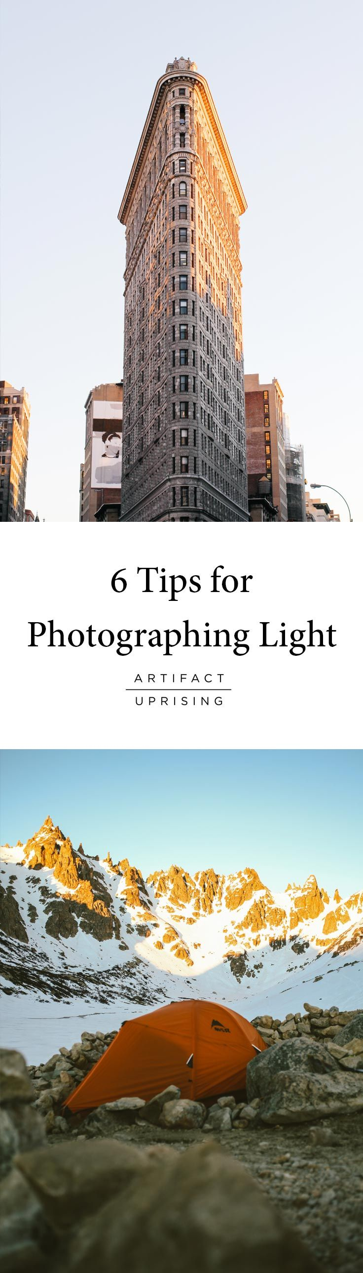 Working What What You Are Given: 6 Tips for Photographing Light with Matthew Payne X @artifactuprsng   After borrowing a friend's camera in Slovenia 5 years ago, Matthew Payne set out to travel over 50 countries and hasn't put the camera down since. Follow along as Matthew shares some insider tips to capture light no matter where the course leads.