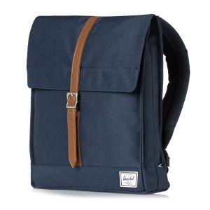 Herschel City Backpack - Navy/Tan | Free UK Delivery* on All Orders