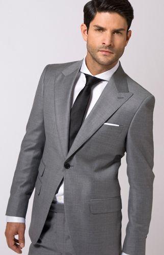 Black Grey Suit | My Dress Tip