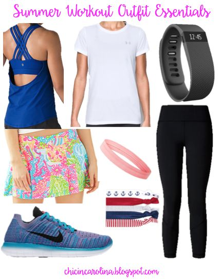 Chic in Carolina: Summer Workout Outfit Essentials