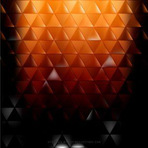 Black Orange Fire Triangle Background Vector #freevectors