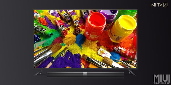 Xiaomi's Mi TV 3 with 4K display launched in China at $786