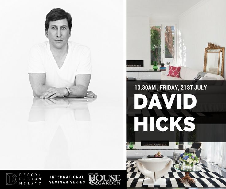 Australian Interior Designer And Author David Hicks Launched His Studio Design Pty Ltd In