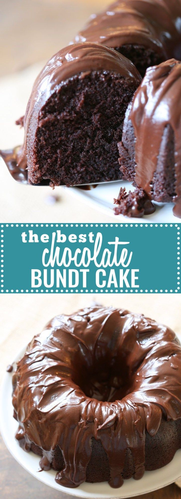 The Best Chocolate Bundt Cake: This really is the best (and thankfully most foolproof) chocolate cake around. With a rich, thick glaze, this little beauty is great the day you make it, but even better after a day or two in the fridge.