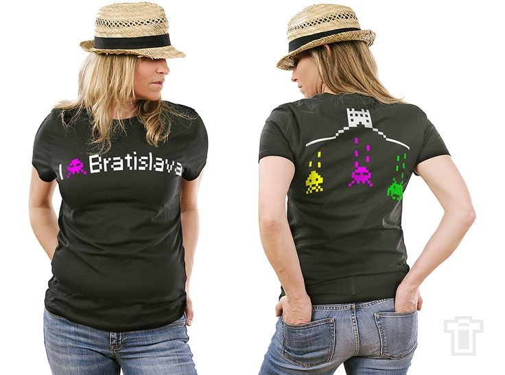 Tričko 87-bit Bratislava T-Shirt Printing