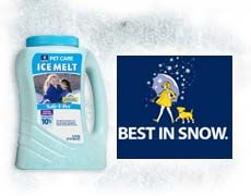 Morton Pet-Safe Ice Melt & Pet Care during the Winter