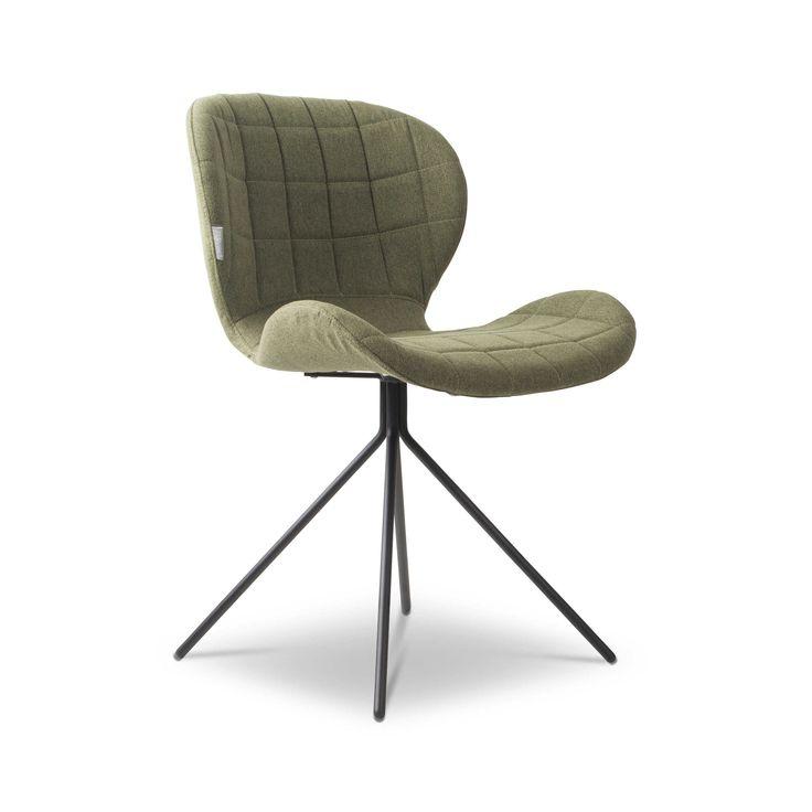 Zuiver Stuhl OMG Grün Stoff