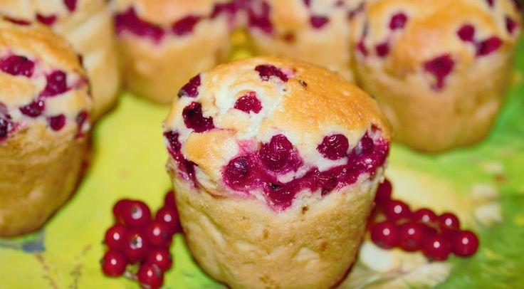 Французские кексы с красной смородиной | Recipe | сладкая ...