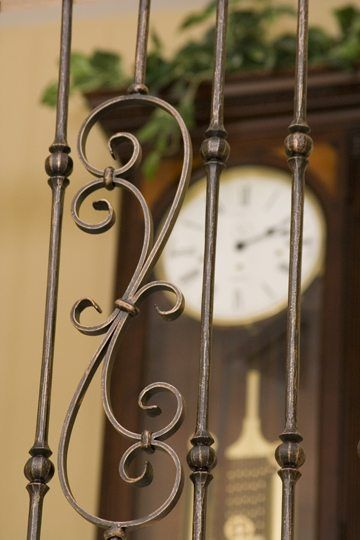 Best 17 Best Images About Tuscan Round Hammered Iron Baluster 640 x 480