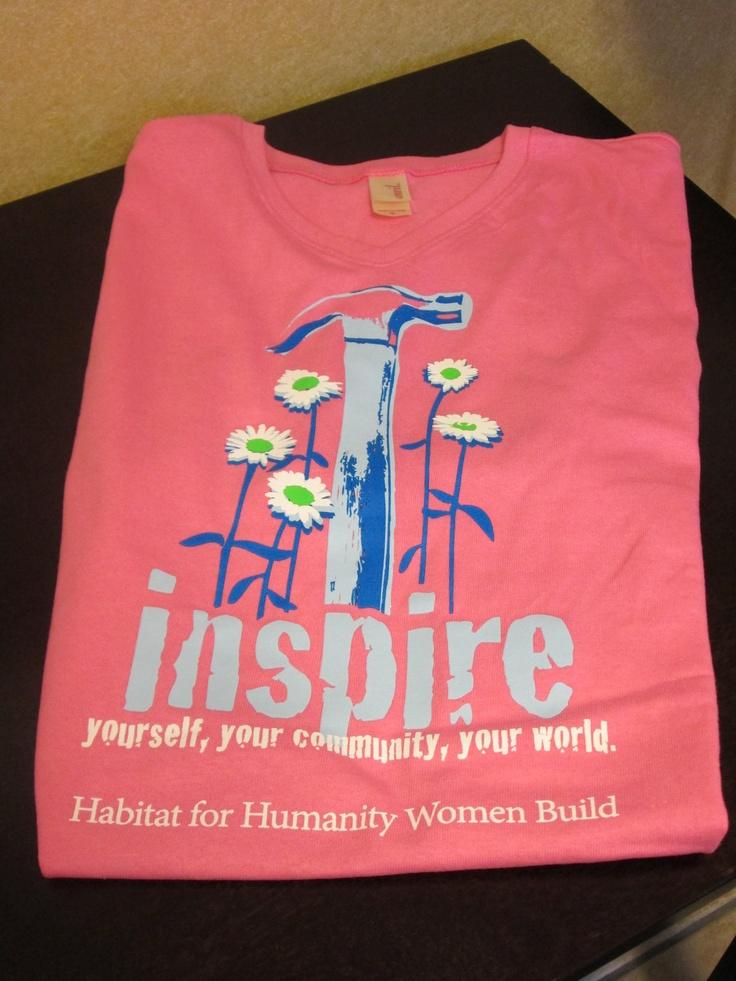 Habitat for Humanity....women build team