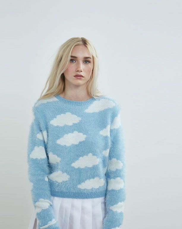 casper jumper. lazy oaf fluffy cloud jumper - autumn 2016 seasons womens casper