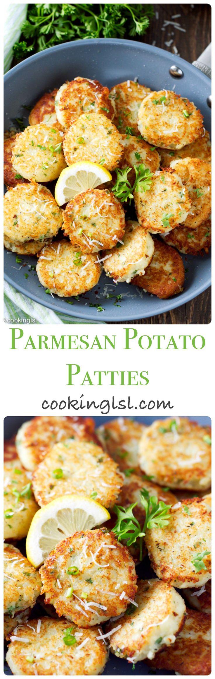 Best 25 american food ideas on pinterest american recipes parmesan potato patties forumfinder Choice Image