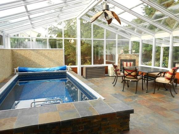 66 best images about swim spa rooms on pinterest for Pool lanai cost