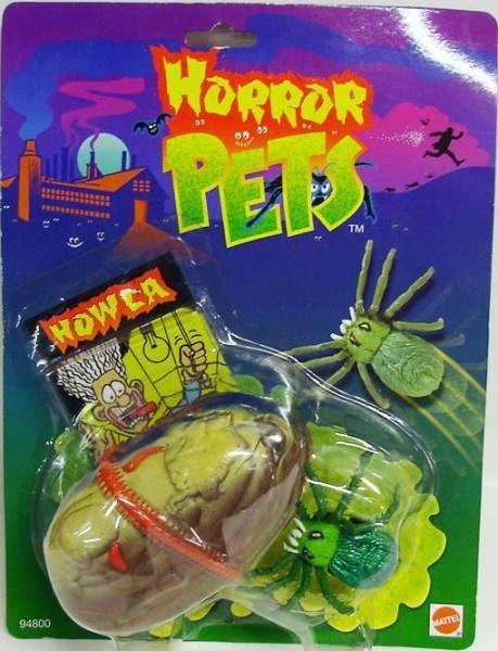 Horror Pets - Mattel - Howla l'Araignée des Ténèbres
