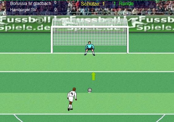 Elfmeterpokal is a penalty shootout game. #game