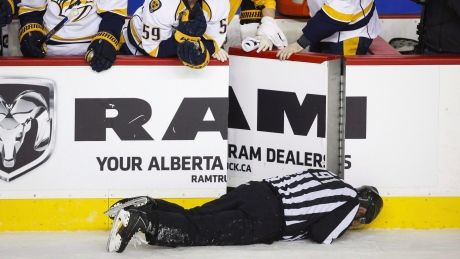 NHL sues players' union to restore Dennis Wideman's 20-game ban