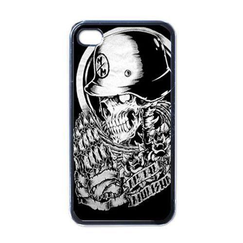 White Skull Metal Mulisha for iPhone 4s 5s 5c 6 6s Plus iPod touch 4 5 6 Samsung Galaxy s2 s3 s4 s5 mini s6 edge note 2 3 4 5 cases