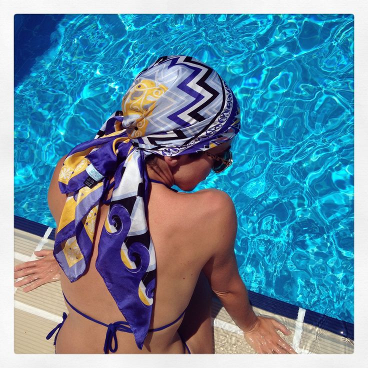 """Greece"" silk scarf by Grecian Chic!"