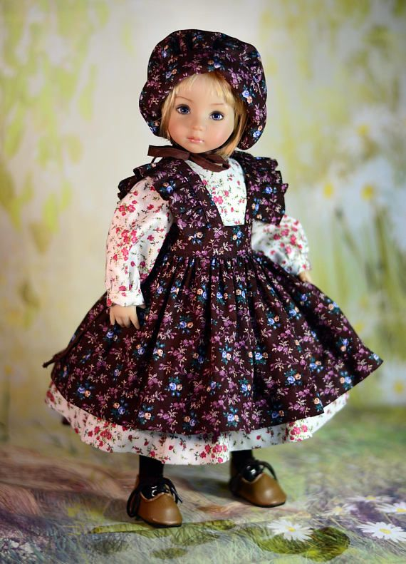 "Little Darling Doll Dress Clothes Pattern for 13/"" Dianna Effner My Meadow Avery"