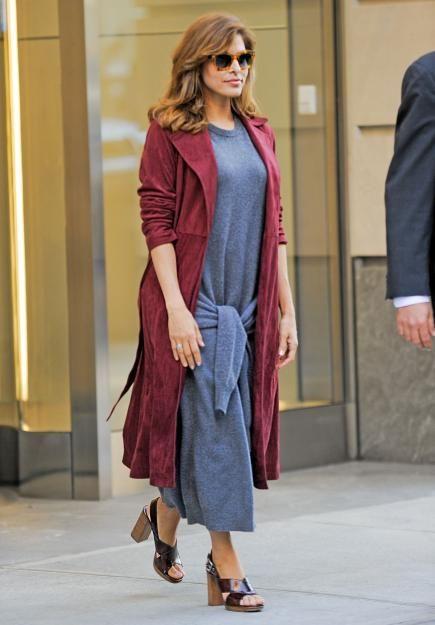 Eva Mendes - hier im September 2015 in New York City - meldete sich bei einem Beauty-Event erstmals nach der Geburt ihrer Tochter zurück.