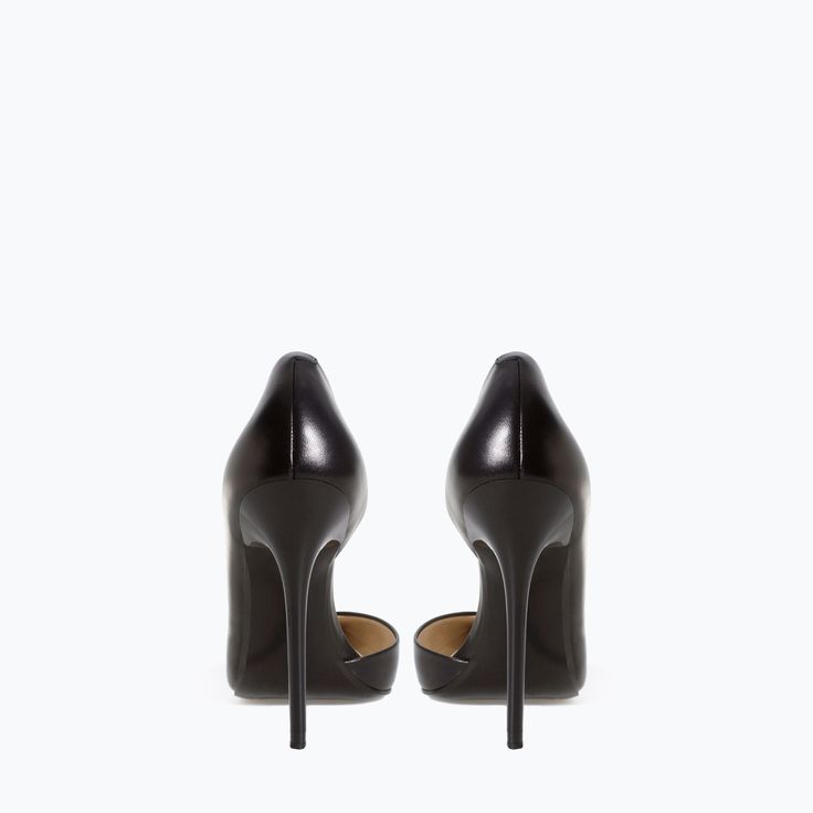 Image 3 of LEATHER COURT SHOES from Zara