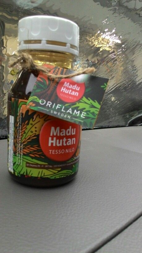 Honey from indonesia. From tesso nilo forest