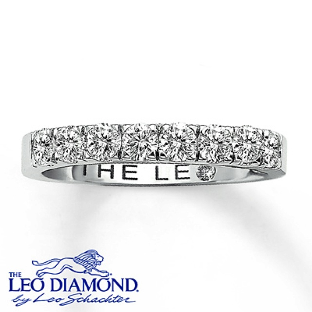 LEO DIAMOND 3/4 CTTW ANNIVERSARY BAND 14K WHITE GOLD Stock number: 040877209 $1,999.99